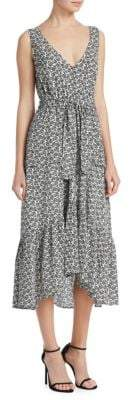 A.L.C. Judd Silk Midi Dress