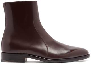 Maison Margiela Icons leather chelsea boots