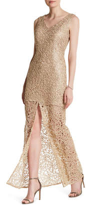 Marina Embroidered Lace Gown $229 thestylecure.com