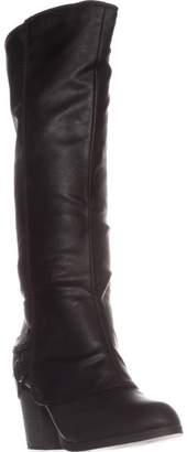 American Rag AR35 Edyth Block-Heel Knee-High Boots