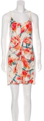 Rebecca Minkoff Silk Gathered Dress