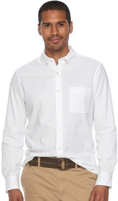 Sonoma Goods For Life Men's SONOMA Goods for Life Flexwear Slim-Fit Oxford Button-Down Shirt