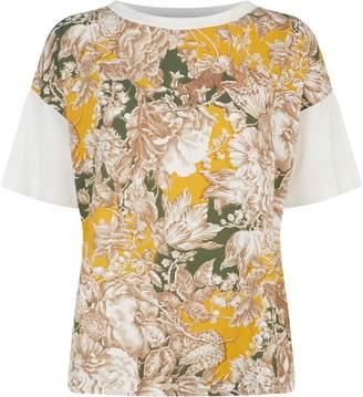 Max Mara Floral Front T-Shirt