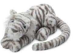 Jellycat Kid's Sacha Snow Tiger Plush Toy
