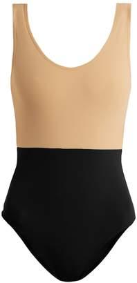 ALBUS LUMEN Costa bi-colour swimsuit