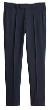 Slim-fit washable Tailored trousers