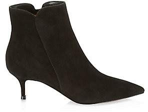Gianvito Rossi Women's Levy Suede Ankle Boots
