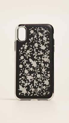 Rebecca Minkoff Ditsy Floral Laser Cut iPhone X Case