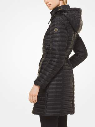 MICHAEL Michael Kors Quilted Satin Puffer