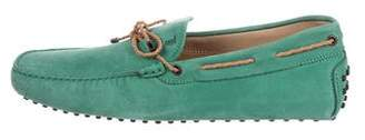 Tod's Suede Driving Loafers w/ Tags