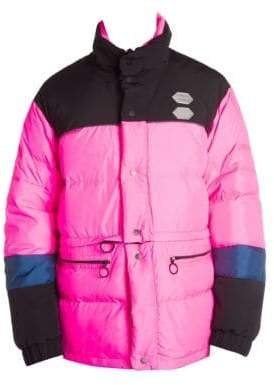 Off-White Colorblock Puffer Jacket