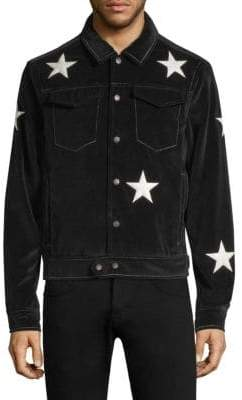Ovadia & Sons Star Snap Front Shirt Jacket
