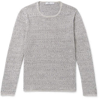 Inis Meáin Deora Aille Mélange Linen Sweater