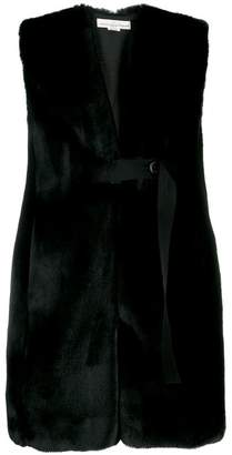 Golden Goose sleeveless fur vest