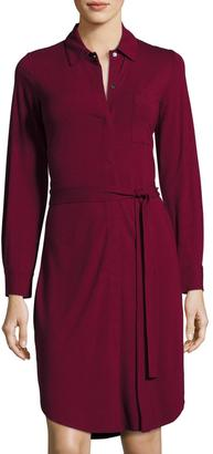 Tommy Bahama Tambour Belted Shirtdress $119 thestylecure.com