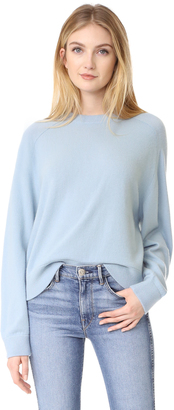 Vince Raglan Sleeve Cashmere Sweater $325 thestylecure.com