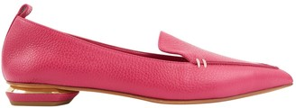 Nicholas Kirkwood Pink Leather Flats