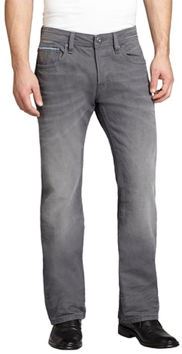 Cult of Individuality 18 month slate denim 'Hagen' relaxed straight leg jeans