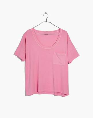 Madewell Garment-Dyed U-Neck Tee