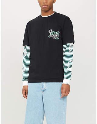 Selfridges Lifes A Beach Logo-print cotton-jersey T-shirt