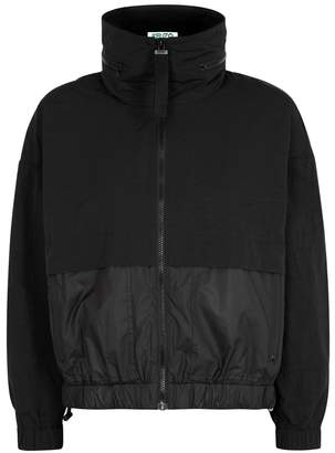 Kenzo Black Hooded Shell Jacket
