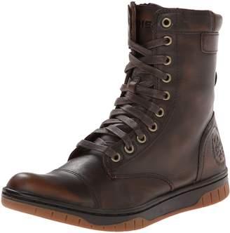 Diesel Men's Tatradium Basket Butch Zip Combat Boot