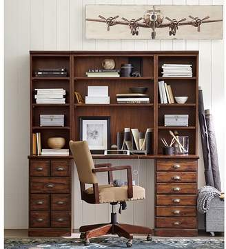 Pottery Barn Single Bookcase Hutch
