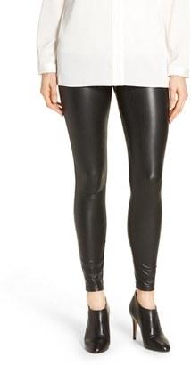 Women's Hue 'Leatherette' Faux Leather Leggings $48 thestylecure.com