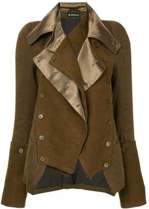 Ann Demeulemeester fitted military jacket