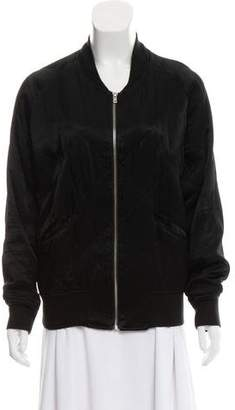 IRO Quilted Zip-Up Bomber