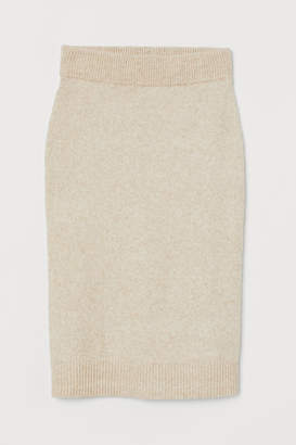 H&M Knit Skirt - Beige