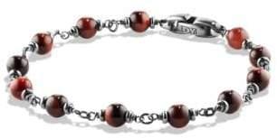 David Yurman Davidyurman Spiritual Beads Rosary Bracelet In Red Tiger Eye