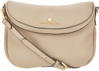 Vince Camuto Leather Crossbody Handbag - Rizo