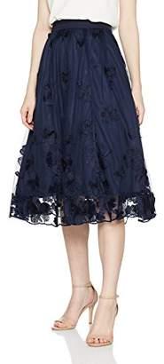 Coast Women's Neive Midi A-line Skirt,6 (Manufacturer Size: 32)