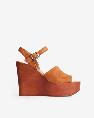 Express Steve Madden Bellini Platform Wedge Sandals