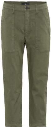 3x1 Sabine cotton-blend cropped pants
