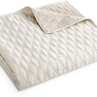 Hotel Collection Woven Texture Full/Queen Coverlet Bedding