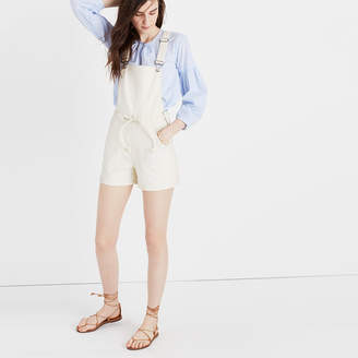 Belted Short Overalls $118 thestylecure.com