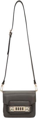 Proenza Schouler Grey PS11 Crossbody Bag