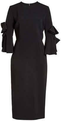 Roksanda Crepe Sheath Dress