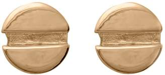Edge Only - Flat Head Screw Earrings in Gold