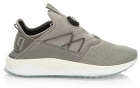 Puma Tsugi Disc-Fit Leather Knit Running Shoes