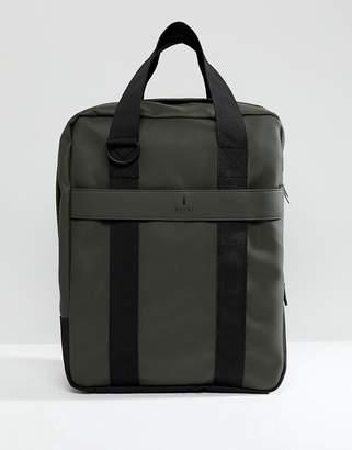Rains 1291 Utility Tote Bag In Dark Green