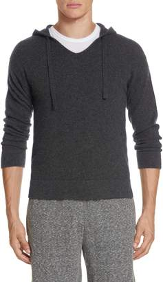 Onia Jamie Sunset Cashmere Hooded Sweater