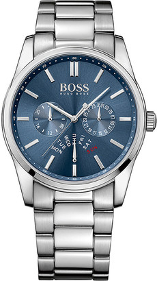 HUGO BOSS 1513126 heritage stainless steel watch $290 thestylecure.com