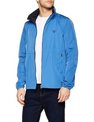 2c015c0f Gant Men's O1. The Wind Shielder Jacket, (Poseidon Blue 448), ...