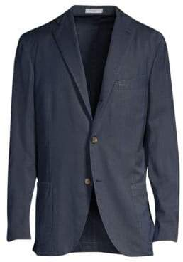 Boglioli Herringbone Wool Jacket
