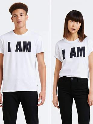"Levi's ""Levi\'s\ Pride\ \+\+\+I\ Am\+\+\+\ Community\ Tee\ Shirt\ T\-Shirt\ \-\ Men\'s\ L"""