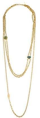 Paige Novick Enamel Multistrand Chain Necklace