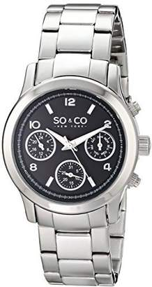 Co SO & New York Women's 5012.1 Madison Stainless Steel Watch with Link Bracelet